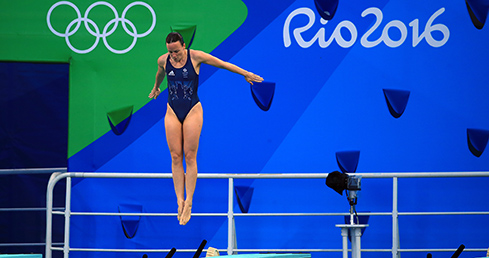 Rebecca Gallantree narrowly misses out semi-final spot