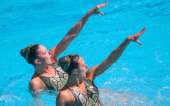Team GB Duet Open Rio 2016 Synchro Campaign