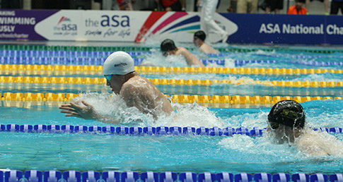 Breaststroke day four heats