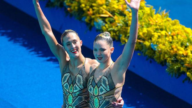 Team GB duet open Rio 2016 synchro campaign