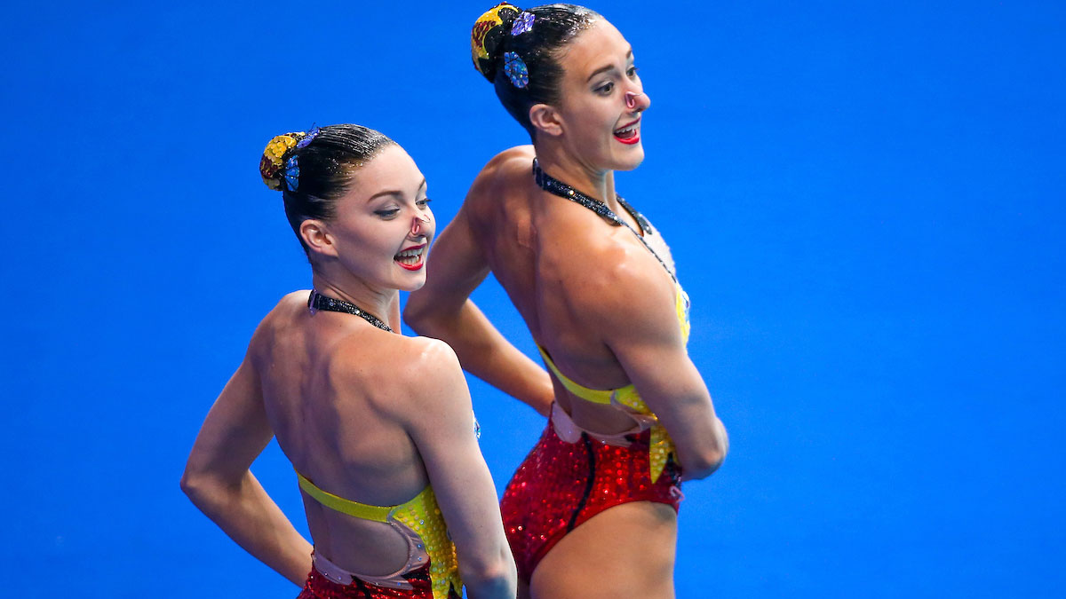 Team GB synchro move up the rankings after Tech Routine