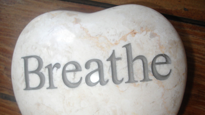 Using breathing to help reduce stress