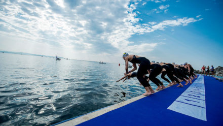 Hughes and Crisp finish eighth at European Junior Open Water Champs