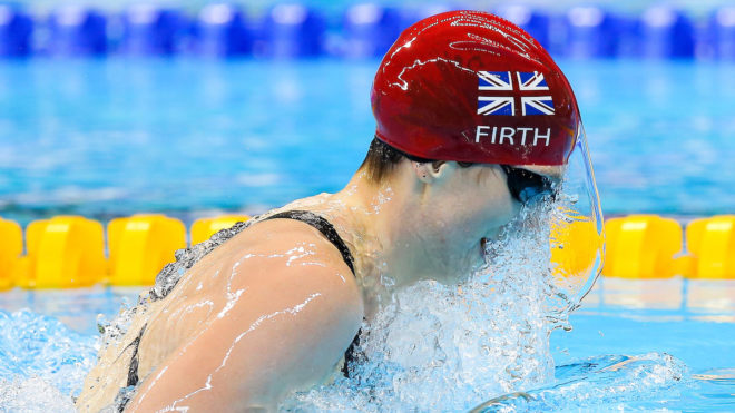 Firth breaks Paralympic record in day ten heats