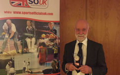Frank Clewlow honoured at national SOUK Awards