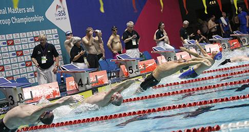 Craig Norrey claims 50m Backstroke world record