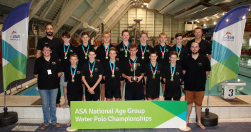 City of Manchester A win the boys' u15 title at the 2016 NAG Water Polo Champs