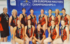 English Roses win bronze at European Masters Championships