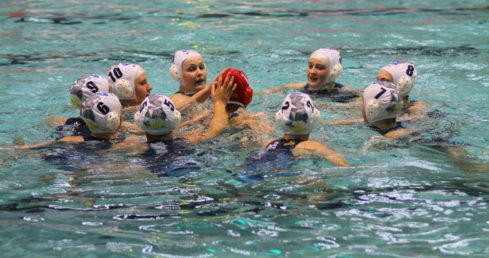 London Otter team from the girls' U15 ASA National Age Group Water Polo Championships 2015.