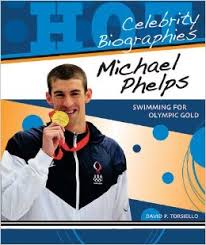 Michael Phelps Olympic gold book