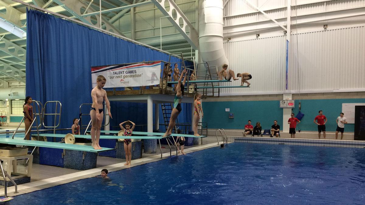 Top Junior Divers Attend Asa Talent Games 2016 In Leeds
