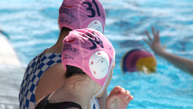 Player development with England Programmes Water Polo