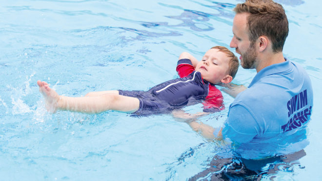 Train to be a swimming teacher
