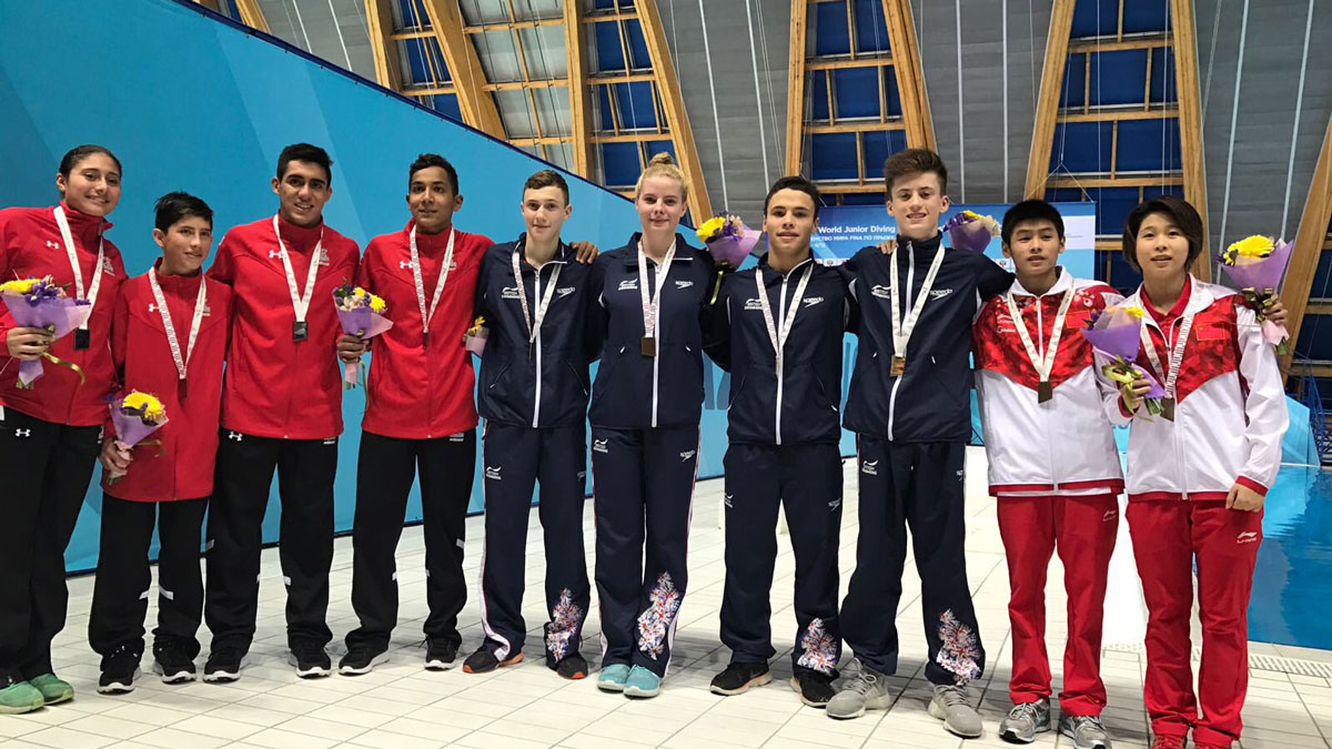 British divers win Team Event gold at World Juniors in Kazan