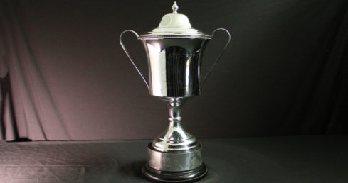 The Holland Trophy. One of the ASA's synchronised swimming trophies.