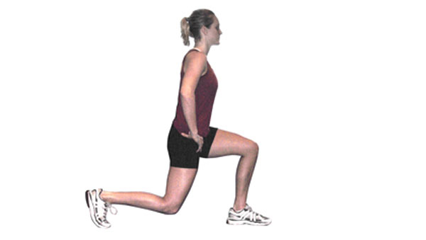 Single Leg Forwards Lunges
