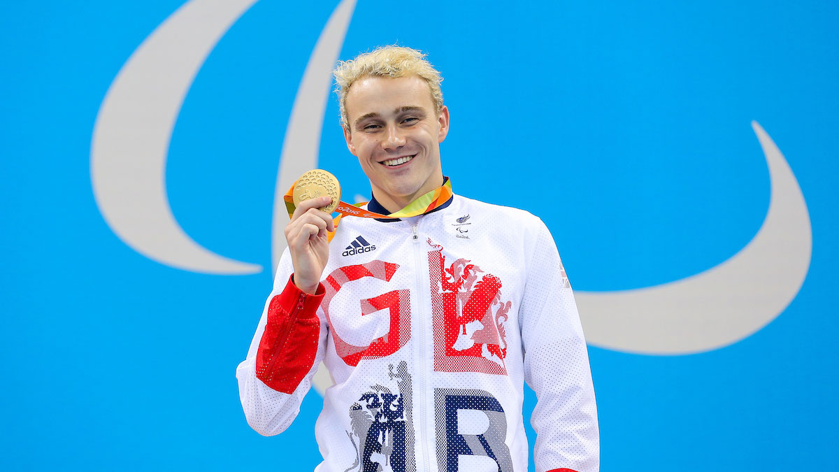 Eight Paralympic champions named on British team for World Para-Swimming Champs