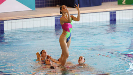 Seymour swim to success at ASA Masters Synchro Champs