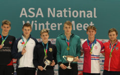 Charlie Attwood doubles up in the breaststroke on day four