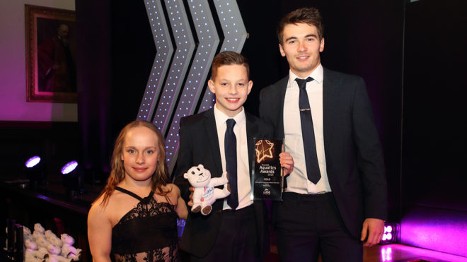 Diving stars recognised at ASA Aquatics Awards