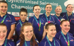 City of Bristol win 15-18yrs Combo on day two of NAGs Synchro