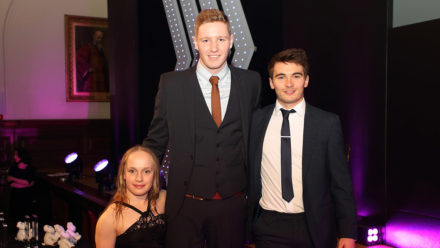 Dylan Green and Aaron Winstanley recognised at ASA Aquatics Awards 2016