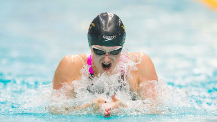 Imogen Clark breaks English 100m Breaststroke record