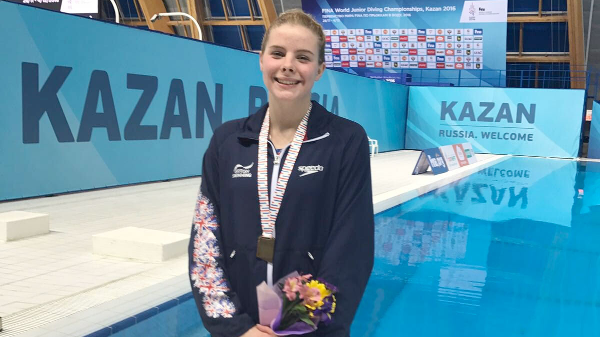 Katherine Torrance wins World Junior gold in Russia