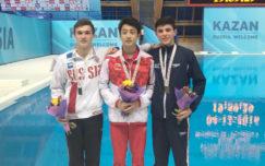 Matthew Dixon wins World Junior bronze in Group A Platform