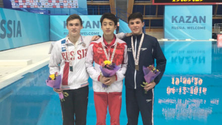 Matthew Dixon wins World Junior bronze in Group A Platform