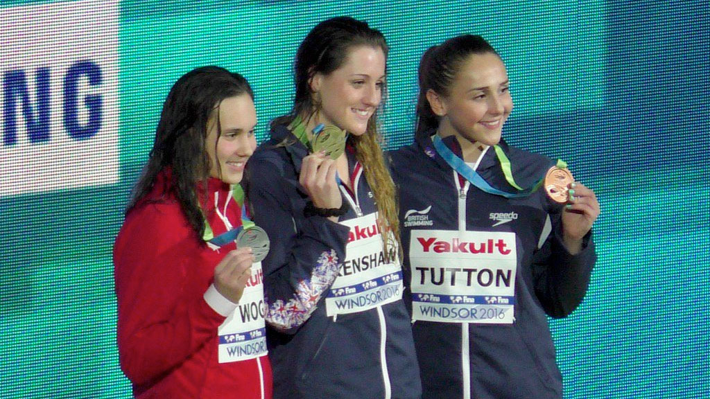 Molly Renshaw becomes world champion with 200m Breaststroke gold