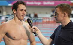 Ben Proud takes 50m Freestyle gold at National Winter Meet