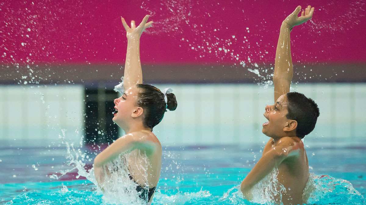 Synchronised Swimming Technical Routines