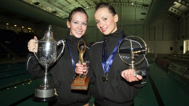 ASA Synchronised Swimming Trophies