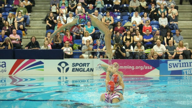 Bristol Central medal hat-trick on NAG Synchro day one