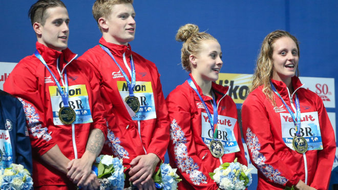 IOC add three events to Olympic swimming programme for Tokyo 2020