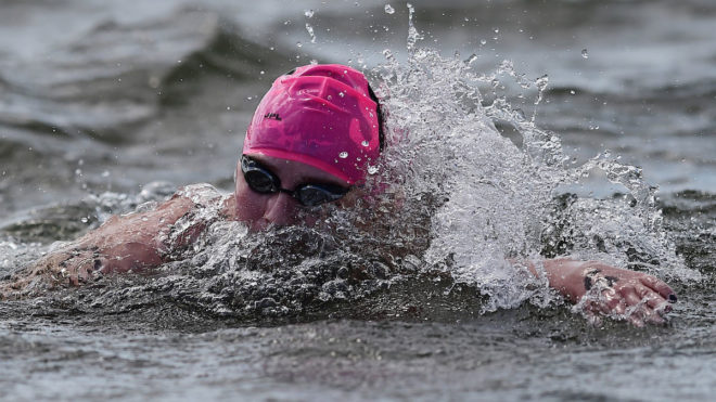 IoS course supports boost in open water swimming popularity