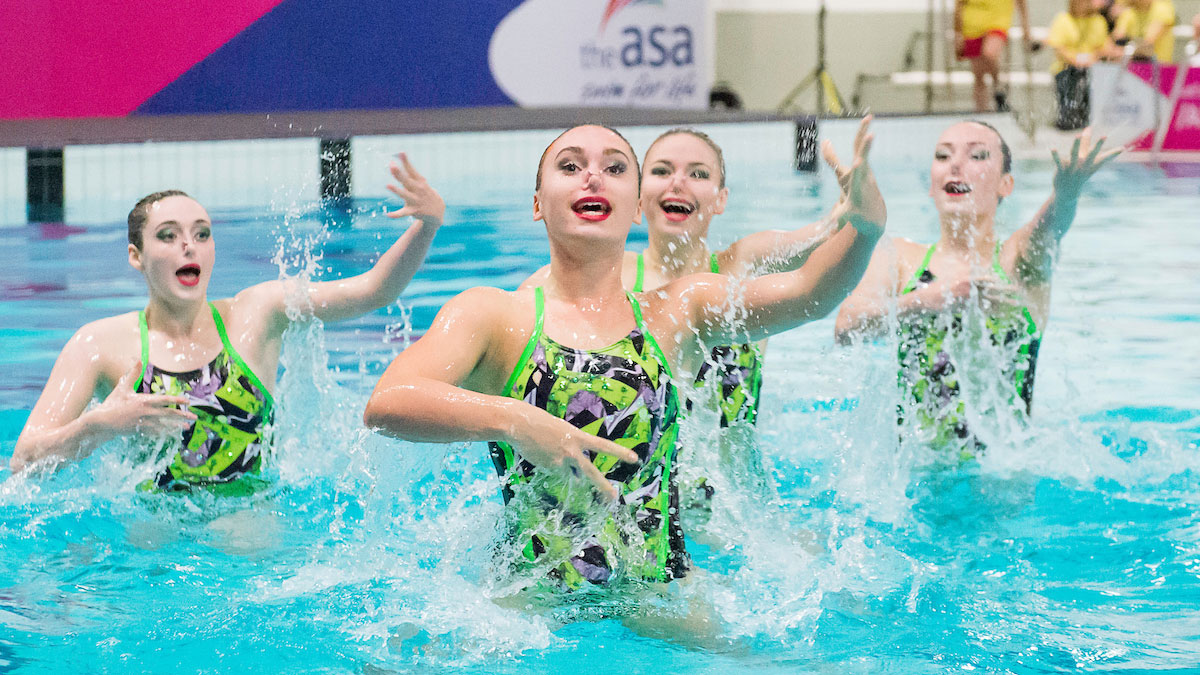 About the Swim England Synchronised Swimming National Age Group Championships