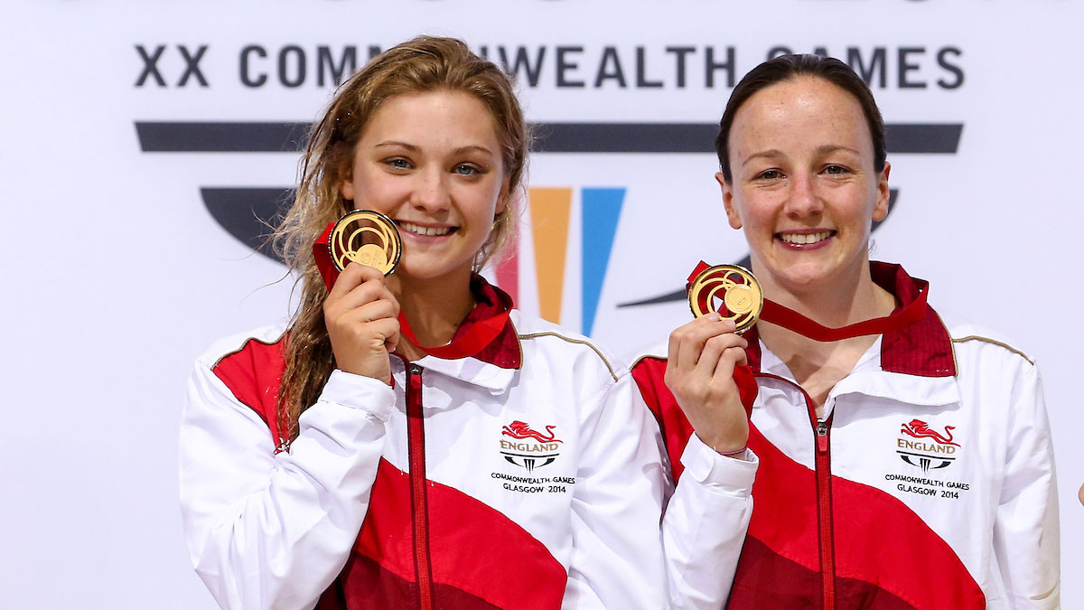 Rebecca Gallantree and Alicia Blagg win Commonwealth gold at Glasgow 2014