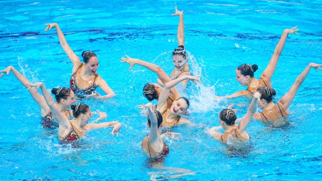 Stage set for Synchro at Glasgow 2018 European Championships