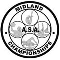 The ASA Midland Championships logo