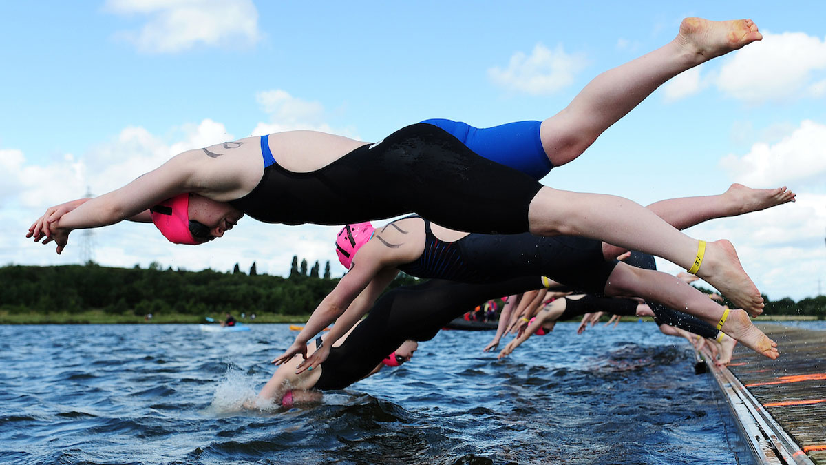 Access your swimming challenge event offers