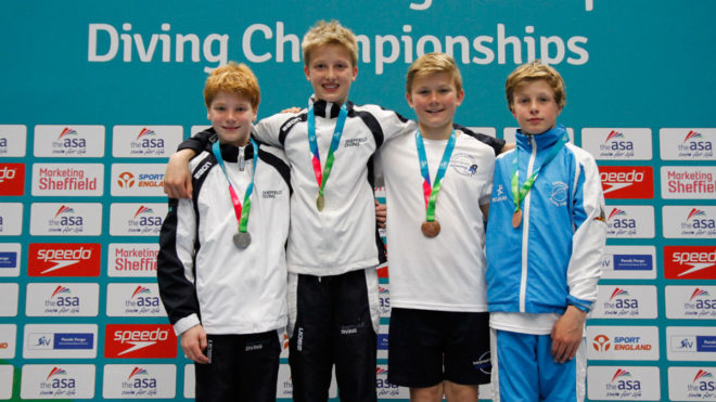 City of Sheffield top Boys C 3m in session four