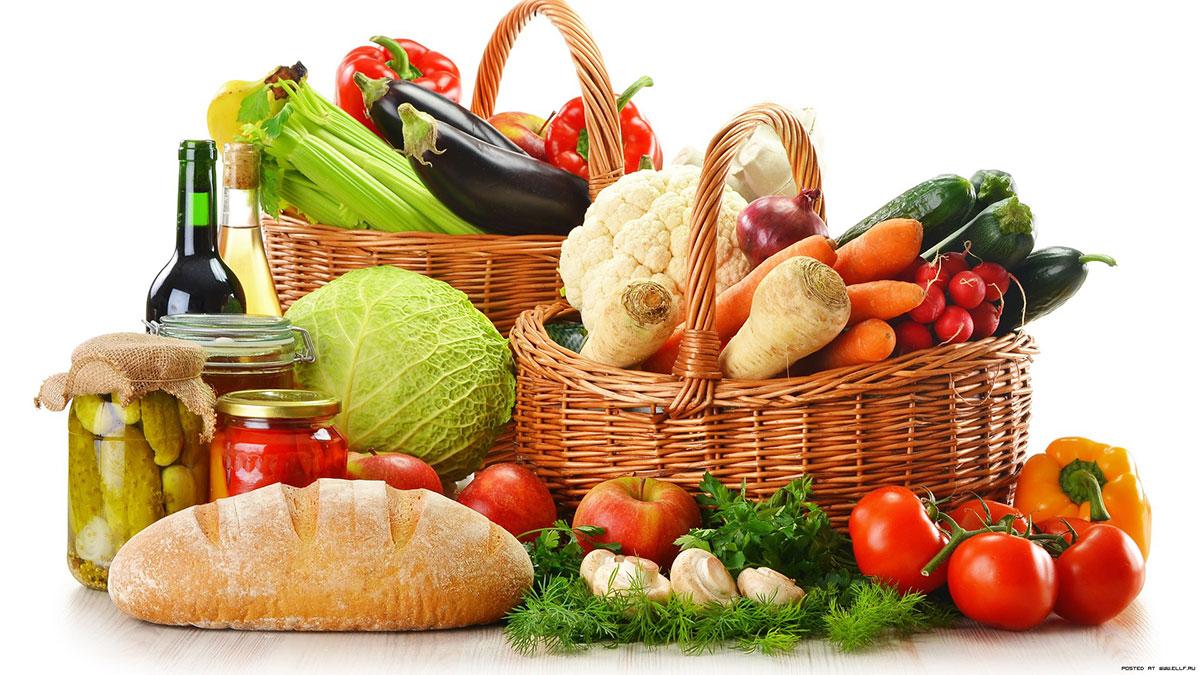Five fundamentals of a healthy diet