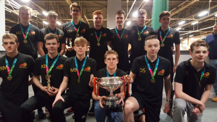 North East Steelers defend Boys' U18 Inter Regional title