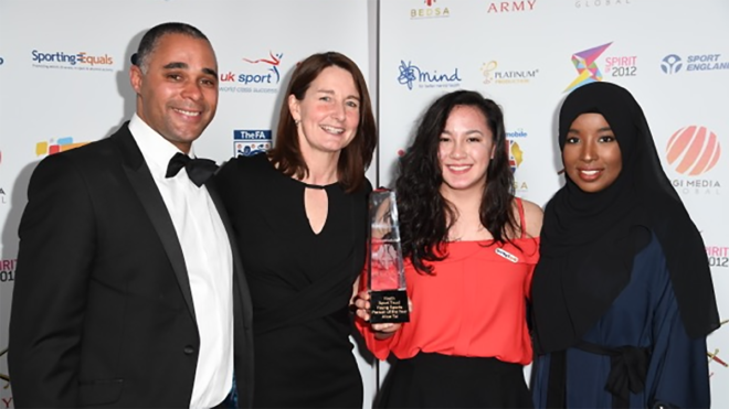 Alice Tai wins Youth Sport Trust Young Sportsperson of the Year award