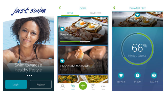 The Just Swim App