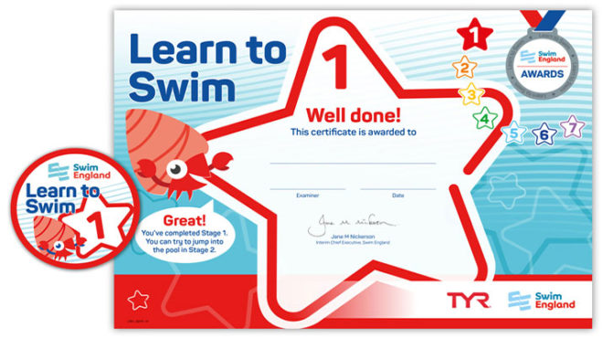 Swim England Learn to Swim Awards – an overview for swimming teachers