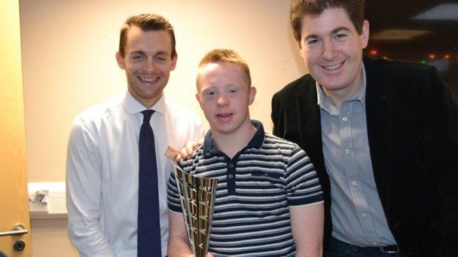 London club celebrate swimmers' achievements at awards