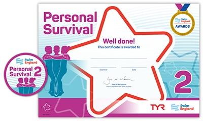 Swim England Personal Survival Award